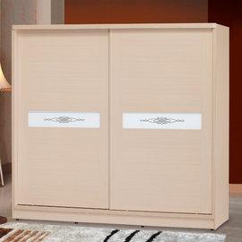 ~ 屋~^~5U6^~白橡朶拉7x7尺衣櫥5U6~8~77 免 免組裝 衣櫥