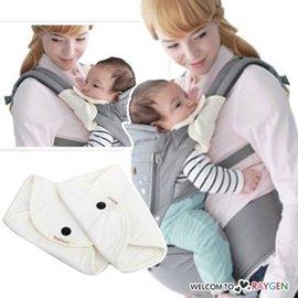 imama 嬰兒純棉腰凳專用按扣 口水巾 嘴兜 肩墊用品 一對【HH婦幼館】