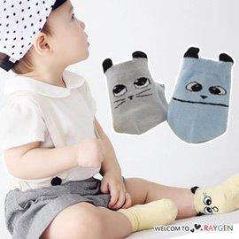 超萌大眼睛貓耳朵造型短襪 防滑襪【HH婦幼館】