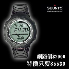 探險家露營帳篷㊣【最低4折起】SS010600110 Suunto Vector Black 電腦腕錶(黑)