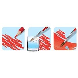 馬彼得 法國 Maped 水溶性色鉛筆12色 紙盒 水性色鉛筆12色^(附水彩筆1支^)