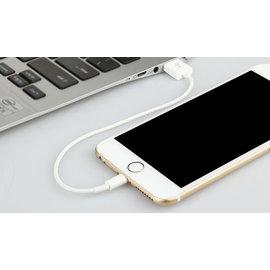 蘋果iphone5/6手機充電線平板ipad4 mini 短款 充電線/傳輸線 黑/白 短線  [AIF-00013]
