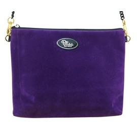 泰國 Bliss BKK 紫色麂皮側肩背包 ^(R07^) ~^^o^^~