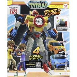 兒童交通模型玩具~Baby Joy World~~韓國TOBOT~ 機器戰士旋風機器戰神
