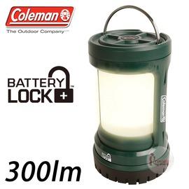 探險家戶外用品㊣CM-27297 美國Coleman PUSH LED營燈 綠 300流明LED營地燈 LED露營燈LED營燈野營燈電子燈
