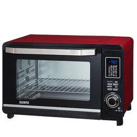 ◤A級福利出清品‧限量搶購中◢ SAMPO 聲寶 30L 微電腦雙溫控烤箱 KZ-PC30F