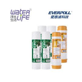 【淨水生活】《EVERPOLL 愛惠浦科技》【公司貨】一年份濾心 EVB-F105*4 / EVB-M100A*2
