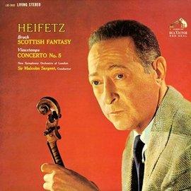 布魯赫︰蘇格蘭幻想曲、魏歐當︰第五號小提琴協奏曲 ^( 雙層 SACD ^)海飛茲,小提琴