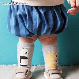 卡通熊貓河馬兒童襪 中筒襪【HH婦幼館】