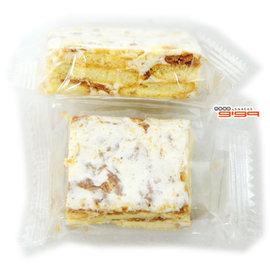 【吉嘉食品】牛軋雪花千層餅(原味) 300公克105元,另有牛軋雪花千層餅(蔓越莓/杏桃){M2-102:300}