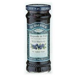 法國~ST.DALFOUR~聖桃園果醬 天然野生小藍莓   284公克