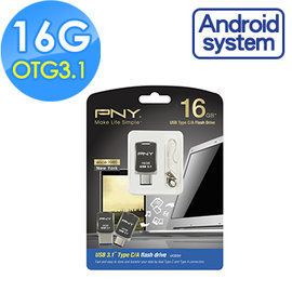 OTG 3.0~~本週 款~~ PNY 必恩威 OTG TYPE~C  A USB 3.1
