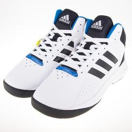 ADIDAS  白色 學生鞋 基本款籃球鞋 AQ1361
