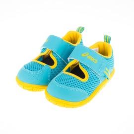 Asics  SUKU2 兒童 學步 涼鞋-藍 TUS118-38