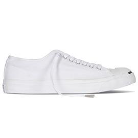 CONVERSE  白色基本款 開口笑帆布鞋 1Q698