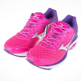 Mizuno  WAVE RIDER 19 (W) WIDE 女寬楦 慢跑鞋 J1GD160603