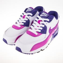 NIKE  AIR MAX 90 慢跑鞋-紫/白 833340105