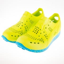 PUMA  RS200INJEX  洞洞 運動涼鞋-綠/藍 356639-10