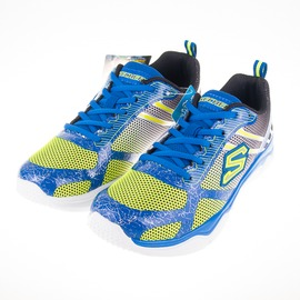 6折出清~Skechers  男童系列 Neutron 慢跑鞋-藍 95172LLMBL