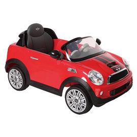 【店面購買4700元】『CK01-2』2016年 兒童電動車Mini CooperS 遙控電動車 紅色【型號W456EQ】【贈純植物精油防蚊液 60ml】