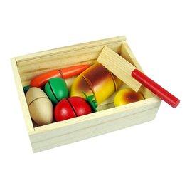 木製切切樂 蔬果切切樂 切水果 木製玩具