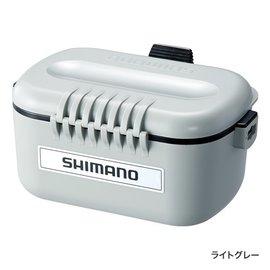 ◎百有釣具◎SHIMANO CS-131N(44342 7) 斷熱保冷餌盒/南極蝦盒(不銹鋼內瞻) 附背袋