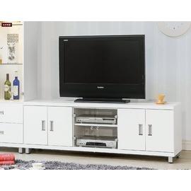 ~台北家福~^(FG493~2^)凱特純白5.5尺電視櫃