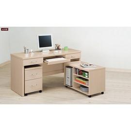 ~台北家福~^(FG527~1^)白橡5尺件鍵盤桌