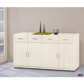 ~台北家福~^(FG566~3^)白雪杉5.3尺餐櫃