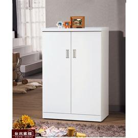 ~台北家福~^(FG620~4^)凱特純白3尺鞋櫃