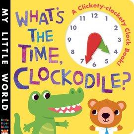 What s The Time,Clockodile 鱷魚先生,幾點了啊 硬頁操作時鐘書