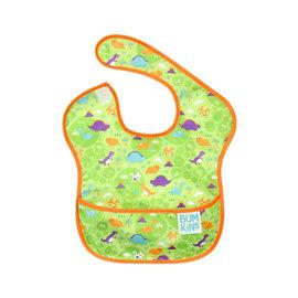 【紫貝殼】『SU06-18』2016年最新 美國Bumkins防水兒童圍兜(一般無袖款6個月~2歲適用)-恐龍 BKS-109【保證公司貨●品質有保證●非水貨】
