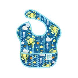 【紫貝殼】『SU06-20』2016年最新 美國Bumkins防水兒童圍兜(一般無袖款6個月~2歲適用)-海洋朋友 BKS-190【保證公司貨】