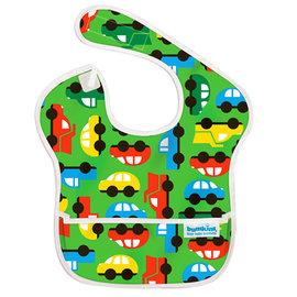 【紫貝殼】『SU06-21』2016年最新 美國Bumkins防水兒童圍兜(一般無袖款6個月~2歲適用)-彩色車車 BKS-227【保證公司貨】