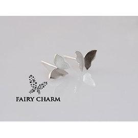 ~Fairy Charm~舞蝶立體拉絲耳環
