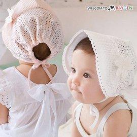 夏季超薄透氣洞洞花朵公主帽 盆帽 遮陽帽【HH婦幼館】