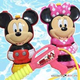 米奇米妮造型兒童背包式水槍 沙灘 戲水玩具【HH婦幼館】