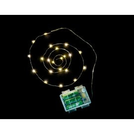 LED 防水暖光燈帶~3米 營繩燈 露營裝飾燈 聖誕燈 1616025