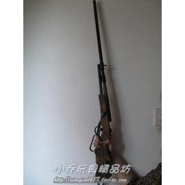 年會演出舞臺道具槍玩具木制步槍影視道具 木質長槍加長 兒童玩具木制槍加長1.3米