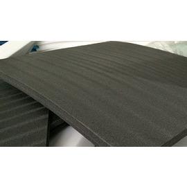 鋁合金工具箱海綿 珍珠海綿黑色 挖模型 防震海綿異性加工 硬海綿配鋁箱4公分厚