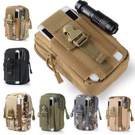 軍盛戶外 molle戰術腰包 5.5 6寸防水手機包 穿皮帶跑步掛包 登山腰包 防水耐磨多