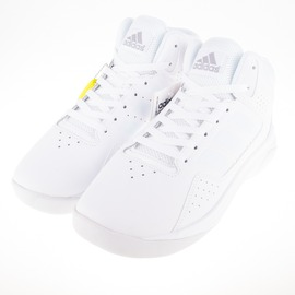 ADIDAS  Cloudfoam  舒適 記憶鞋墊 白色學生鞋 籃球鞋 AW4366