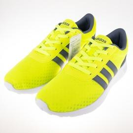ADIDAS  NEO LITE RACER 男慢跑鞋-螢光黃 F99420