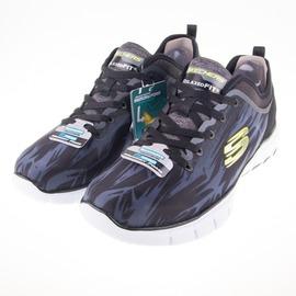 Skechers  Relaxed Fit Skech 男款慢跑鞋 51446BKW