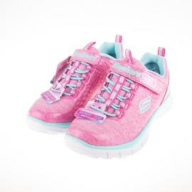 Skechers  閃亮 女 兒童慢跑鞋-粉/粉綠 81853LPKAQ