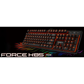 ^~哈GAME族^~~免 可 ~ 技嘉 GIGABYTE FORCE K85 RGB背光機