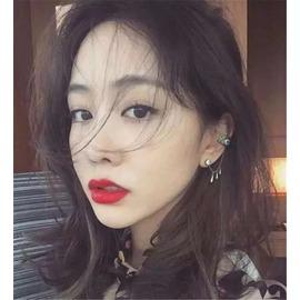 韓國氣質 水鉆眼睛水滴耳釘耳環耳掛耳飾女 潮流耳線手鏈