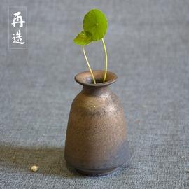 ~再造工坊~陶瓷花瓶 花器 插花容器 土陶家居擺件客廳玄關裝飾款1