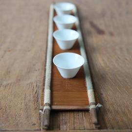 ~杺梧~ 老式織布機茶擺 茶席 茶道 茶杯擺設工具 紫竹排