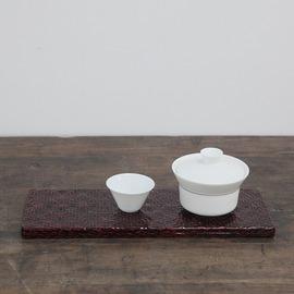 ~杺梧~日式漆器茶具 竹制大漆茶托盤 茶道 盤子 果盤 托盤小號